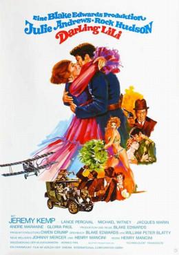 Darling Lili (1970) German poster