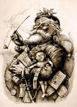 How old were you when you stopped believing in Santa Claus?