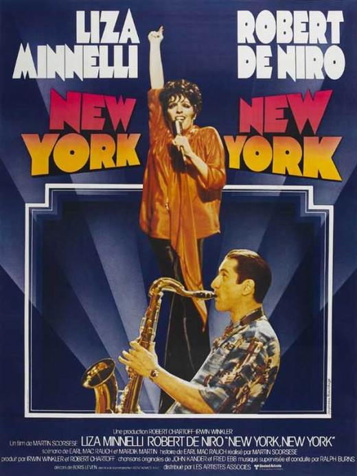New York New York (1977) French poster