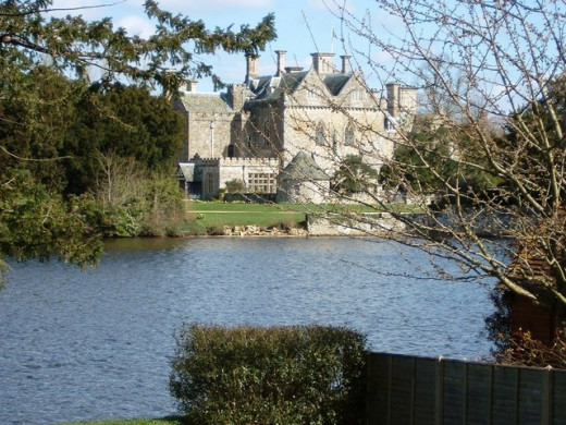Beaulieu Palace Viewed from the village
