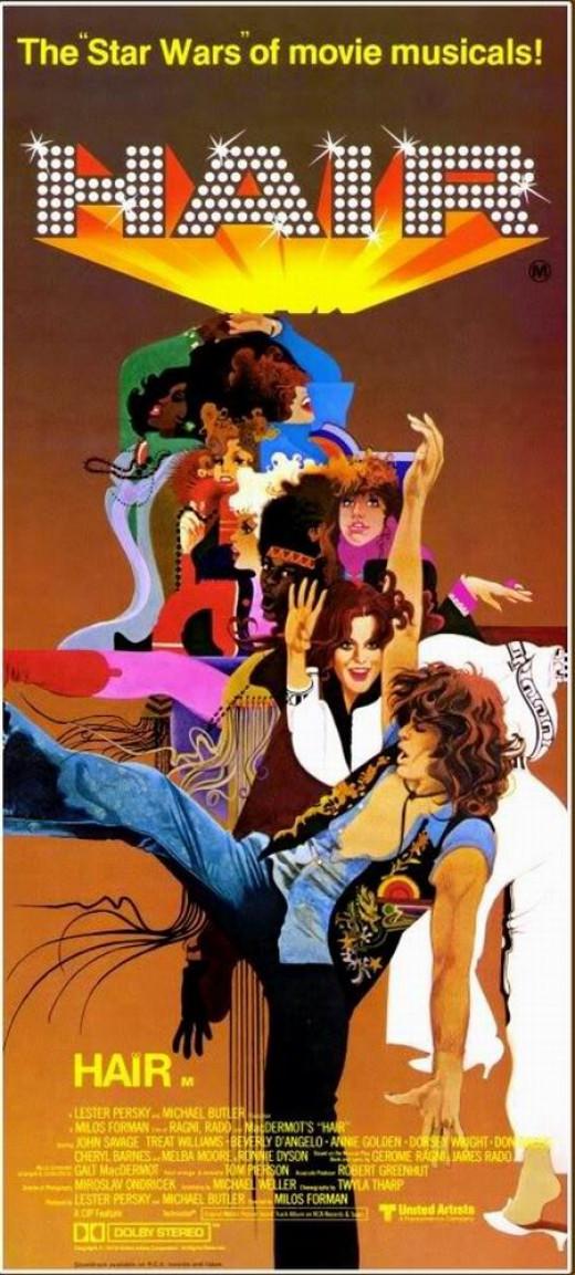 Hair (1979) art by Bob Peak