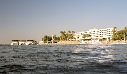 The Nile at Luxor, Egypt