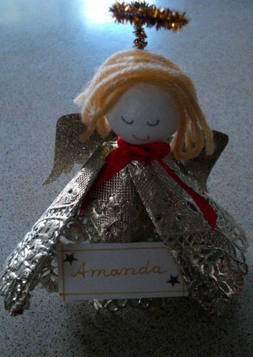Angel and Place Card