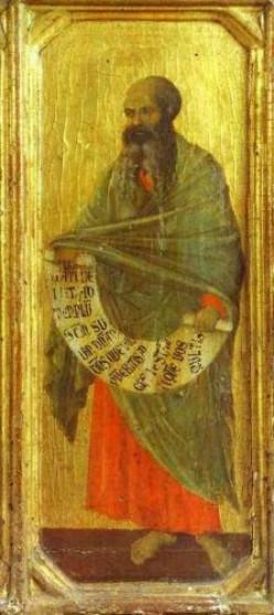 The Prophet Malachi, Duccio di Buoninsegna (c1255-1319)