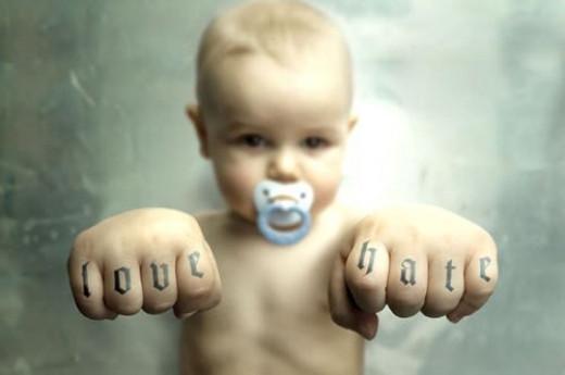 Love or Hate; get 'em young Source: flickr.com