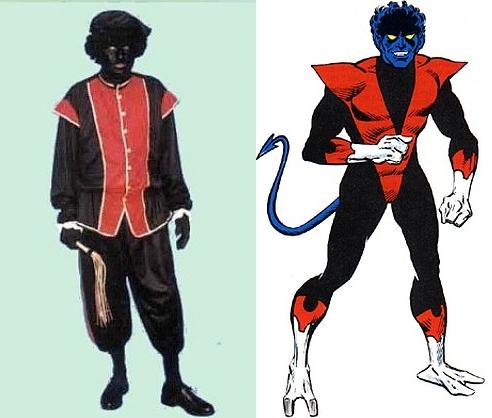 Zwarte Piet or Nightcrawler...you decide