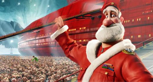 Arthur's dad, Santa.