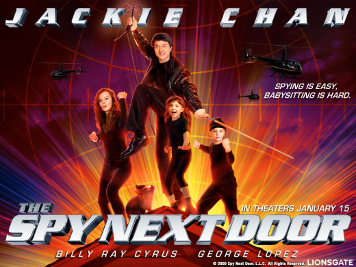 The Spy Nexy Door Movie Poster