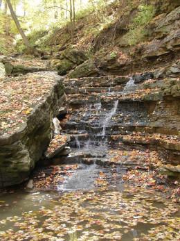 Lower Glendale Falls in Autumn