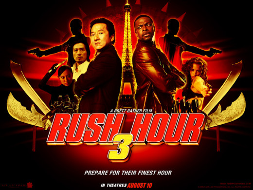 Rush Hour 3 Movie Poster