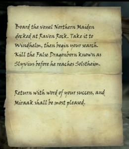Skyrim Directions to Start Dragonborn DLC Quest