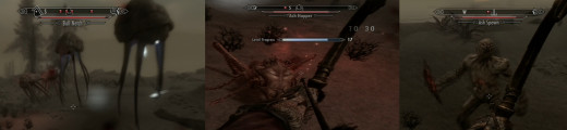 Skyrim Monsters On Solstheim - remember the netch in Morrowind? They are back.