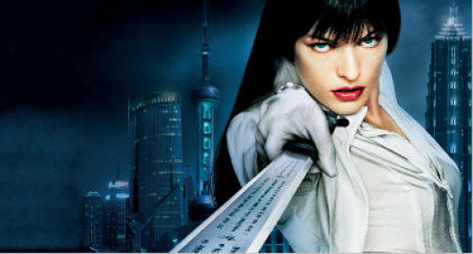 """Mila Jovovich - a pic from """"Ultra Violet"""""""
