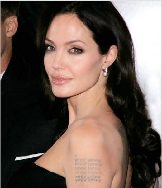 Angelina Jolie - originally of Tomb Raider fame.  A terrific actress who could handle any role, but that frail body of hers makes one wonder.