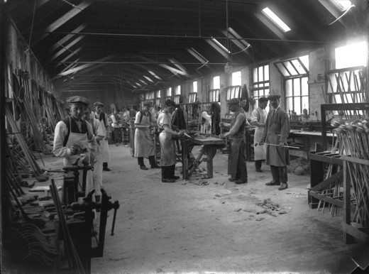 Club making in the 1880's