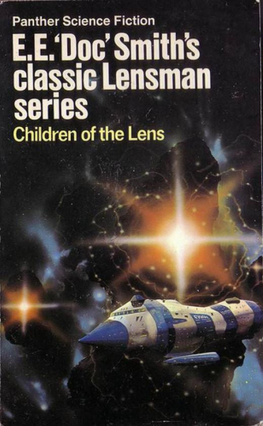 Children of the Lens - art by Chris Foss