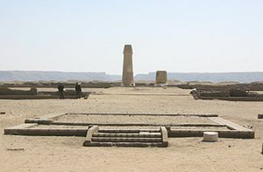 Remains of Temple to Aten