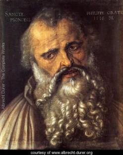 Apostle Philip, Albrecht Durer (1471-1528)