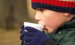 Mmmmm!  Hot cocoa in winter.