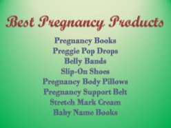 Most Useful Pregnancy Products