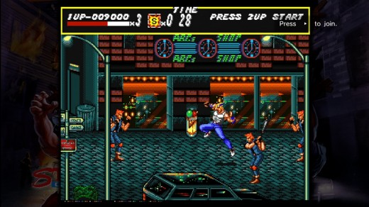 Streets of Rage 2.  An arcade classic that made it's way onto XBLA