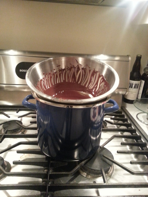 Homemade Double-Boiler