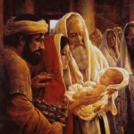 Christmas the birth of Jesus Christ