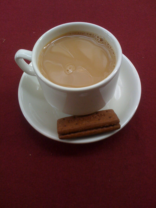 Nothing beats a chat over a nice cup of tea...