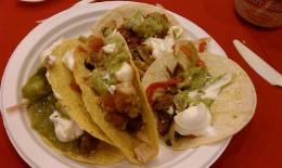 Loaded taco