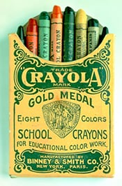A humble beginning would not stop Crayola from becoming the world's leading crayon.