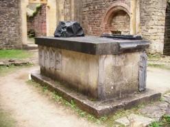 Orval Abbey, Belgium; tomb of Wenceslas of Bohemia, Duke of Luxembourg