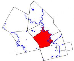 Map of Kitchener, Ontario