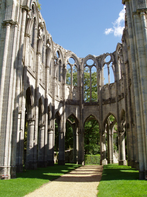 Ourscamp Abbey, Oise; ruins