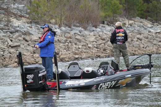 Jimmy Houston Fishing in a Tournament