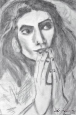 Drawing by Helen Kramer