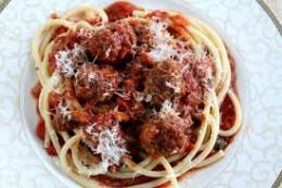 Italian Spaghetti and Meatballs Recipe