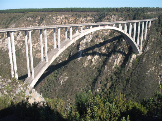@ 216m..... This is the world's' highest commercial bungee jumping bridge