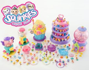 Squinkies Toys - Squinkies Gumball Surprise Playhouse