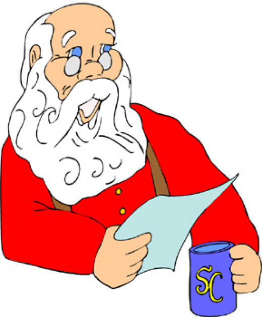 Santa always reads the letters we send!