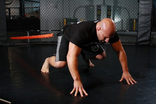 Quad Hops, a great grappling exercise