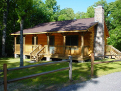 Live a secluded livestyle in a log cabin.