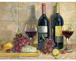 Wine Themed Décor For Kitchens