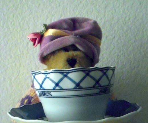 A Teddy Bear Tea is a festive celebration. What better time to wear a hat?