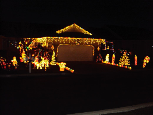 Whether a single candle or a feast of lights, Christmas lights symbolize the light of Christ.