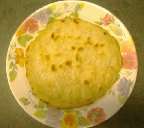 Image: Homemade Tortilla