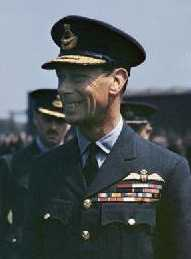 HM King George VI, 1943