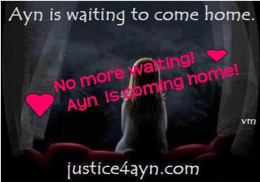 Jean Nicol created this picture in commendation of Ayn's return to her family.