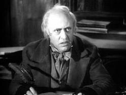 Alistair Sim as Scrooge in the 1951 version of the movie