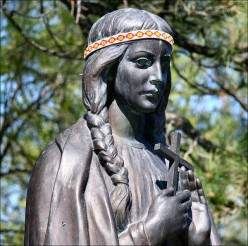 Kateri Tekakwitha, Lily of the Mohawks, North American Saint