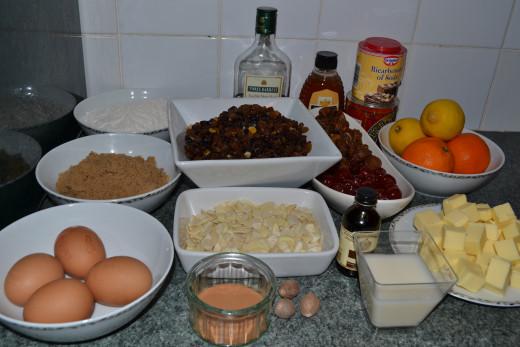 measure the ingredients